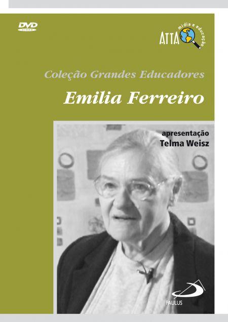DVD - Grandes Educadores - Emilia Ferreiro - 7891210010889