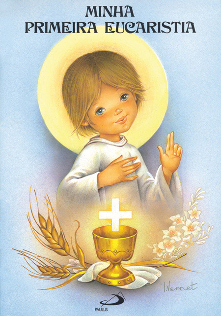 Minha primeira Eucaristia - 9788534900713
