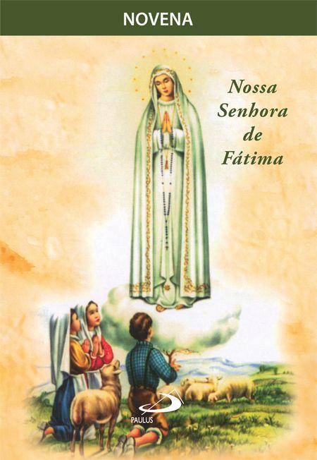 Novena Nossa Senhora de Fátima - 9788534916257