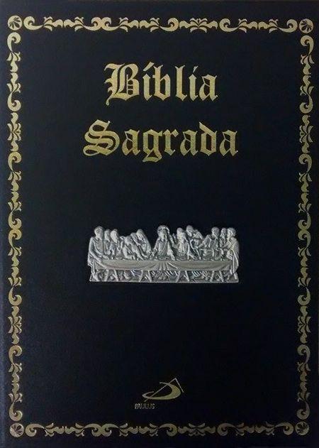 Bíblia Sagrada edição Pastoral - Luxo - Santa Ceia
