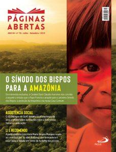Capa Revista Páginas Abertas - Ano 44 n78 2019