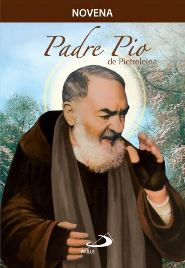 Capa do livro novena Padre Pio